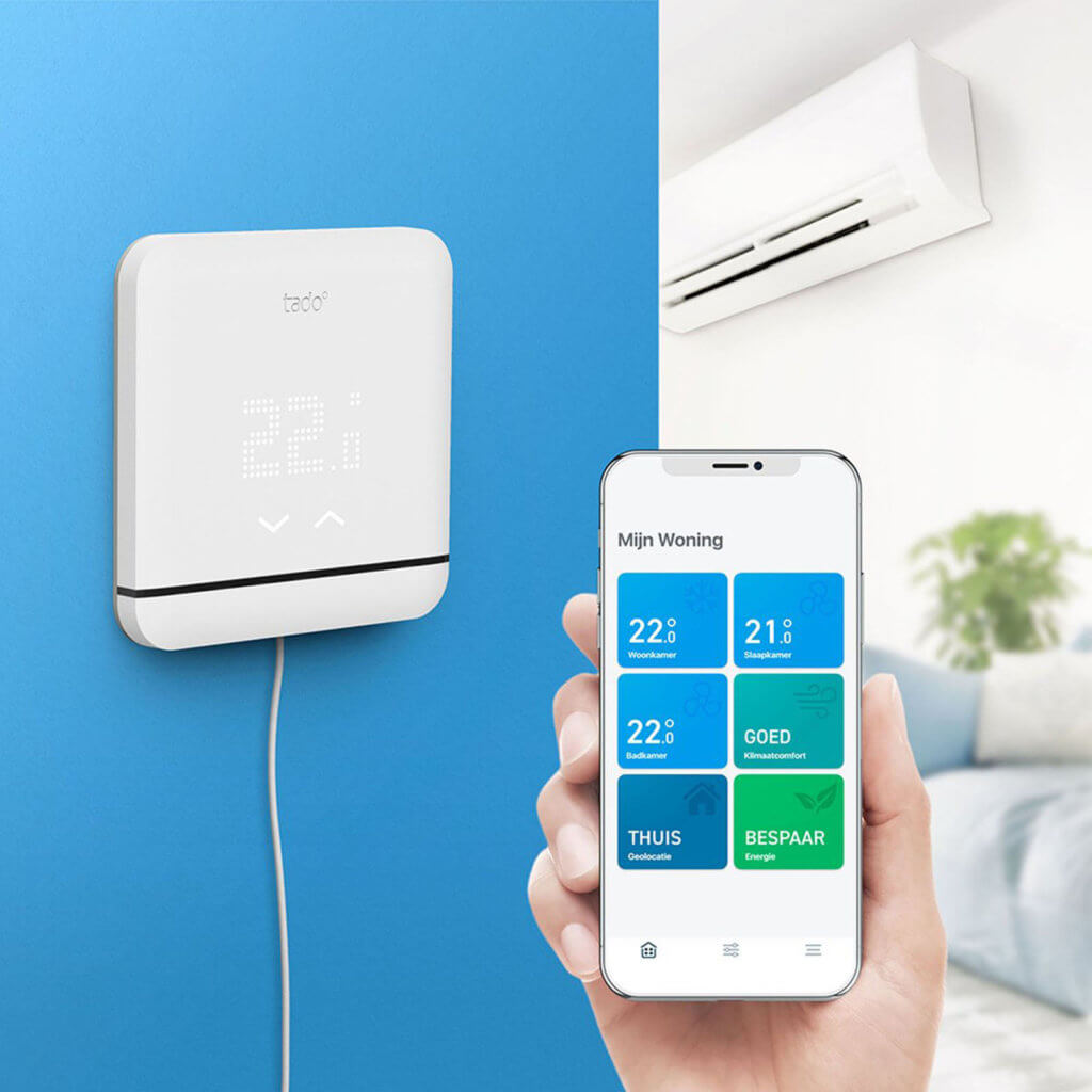 airco bedienen vanaf mobiel