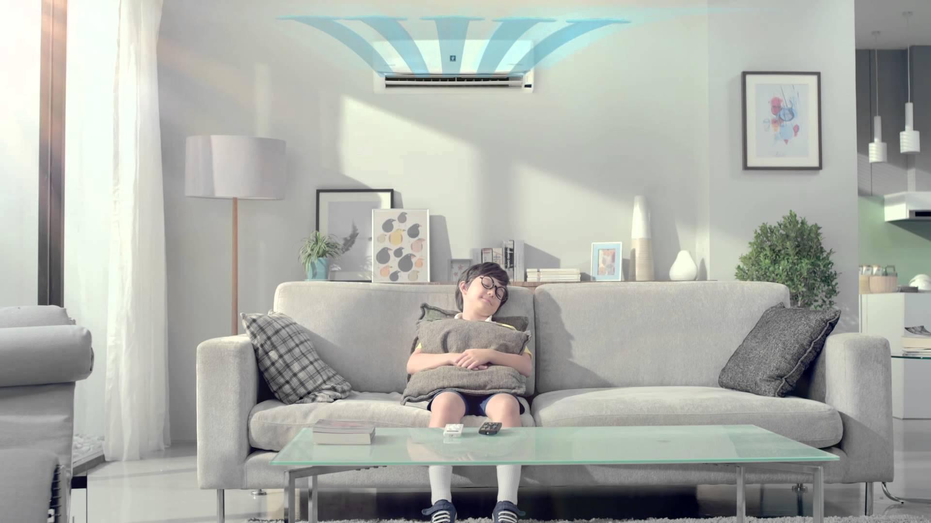 goede lucht ventilatie met airco